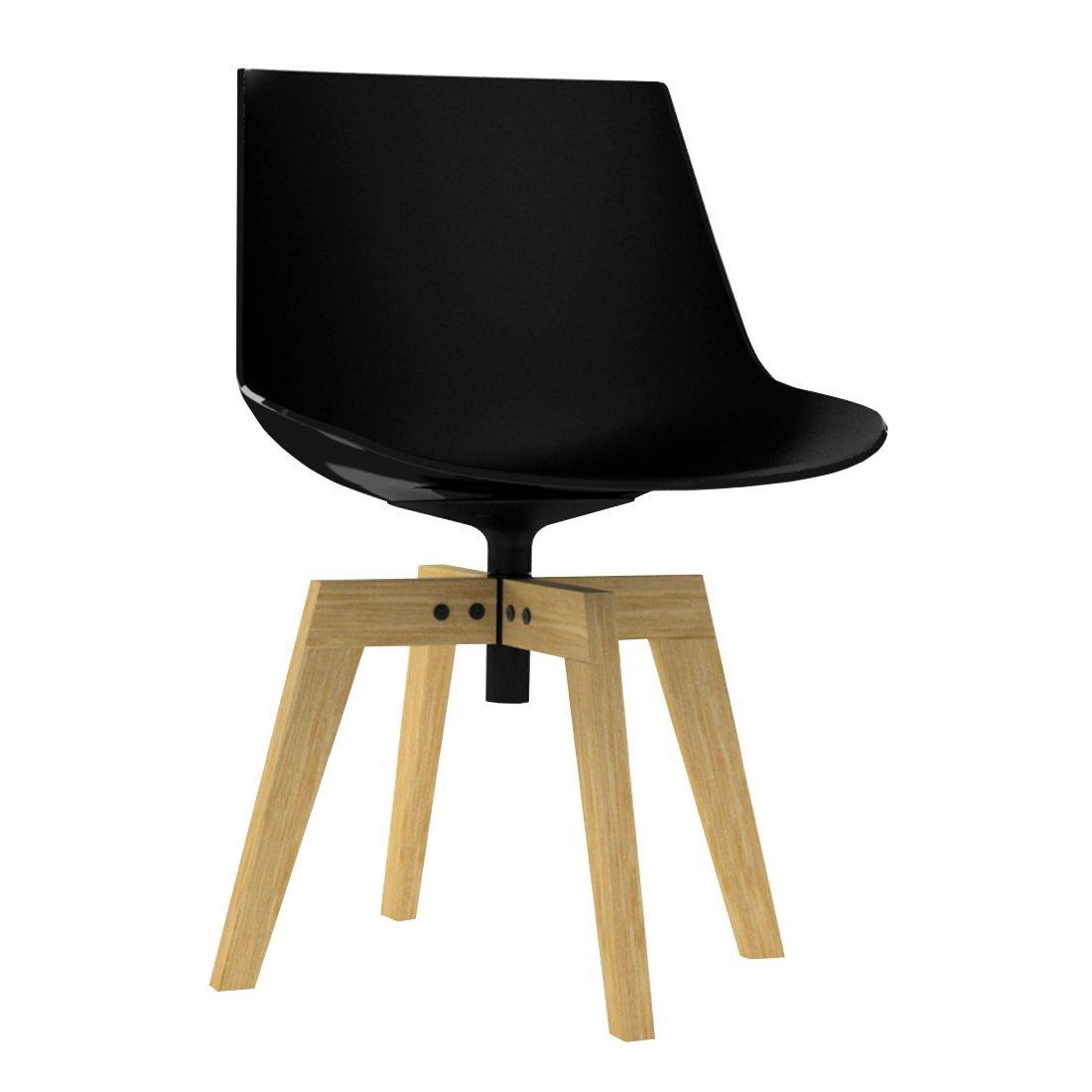 MDF Italia Flow Chair Eiken Onderstel