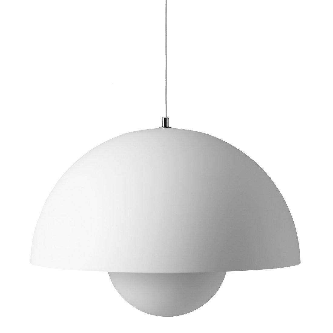 Big Flowerpot VP2 Hanglamp Mat Lichtgrijs - &Tradition