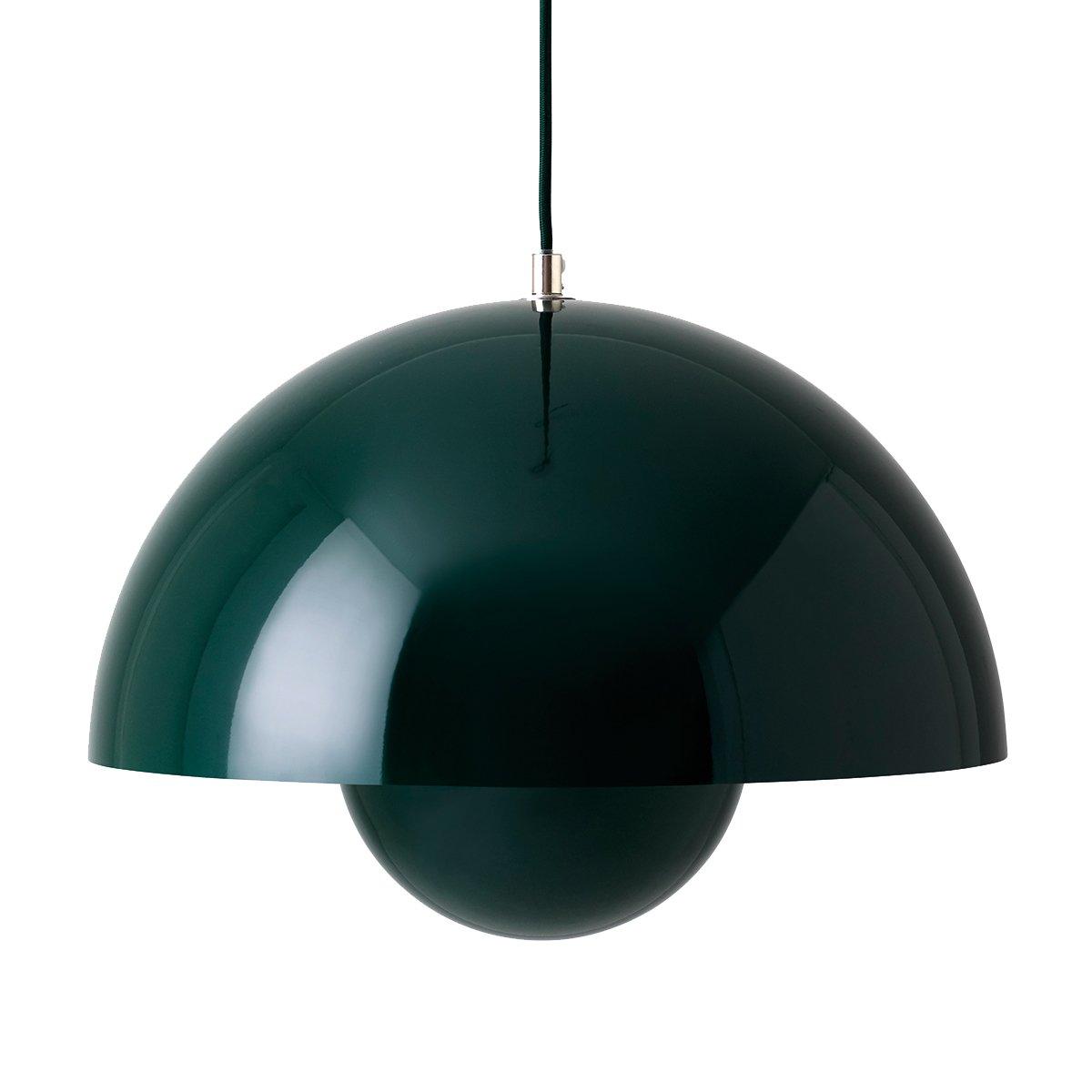 &Tradition Flowerpot VP7 Hanglamp - Donkergroen