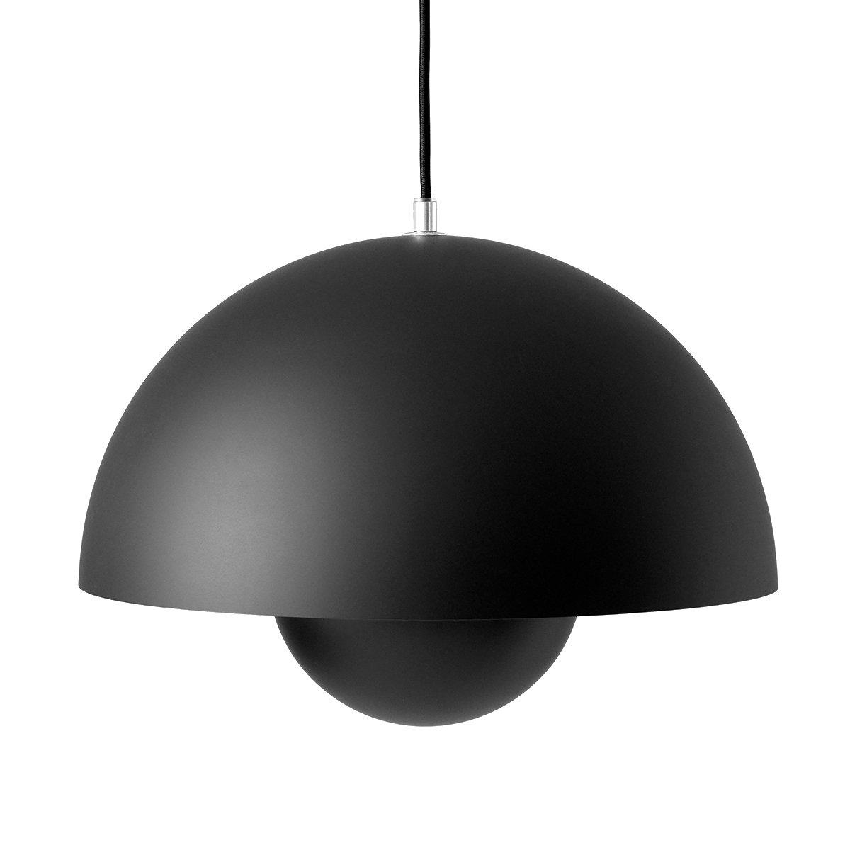 &Tradition Flowerpot VP7 Hanglamp - Mat Zwart