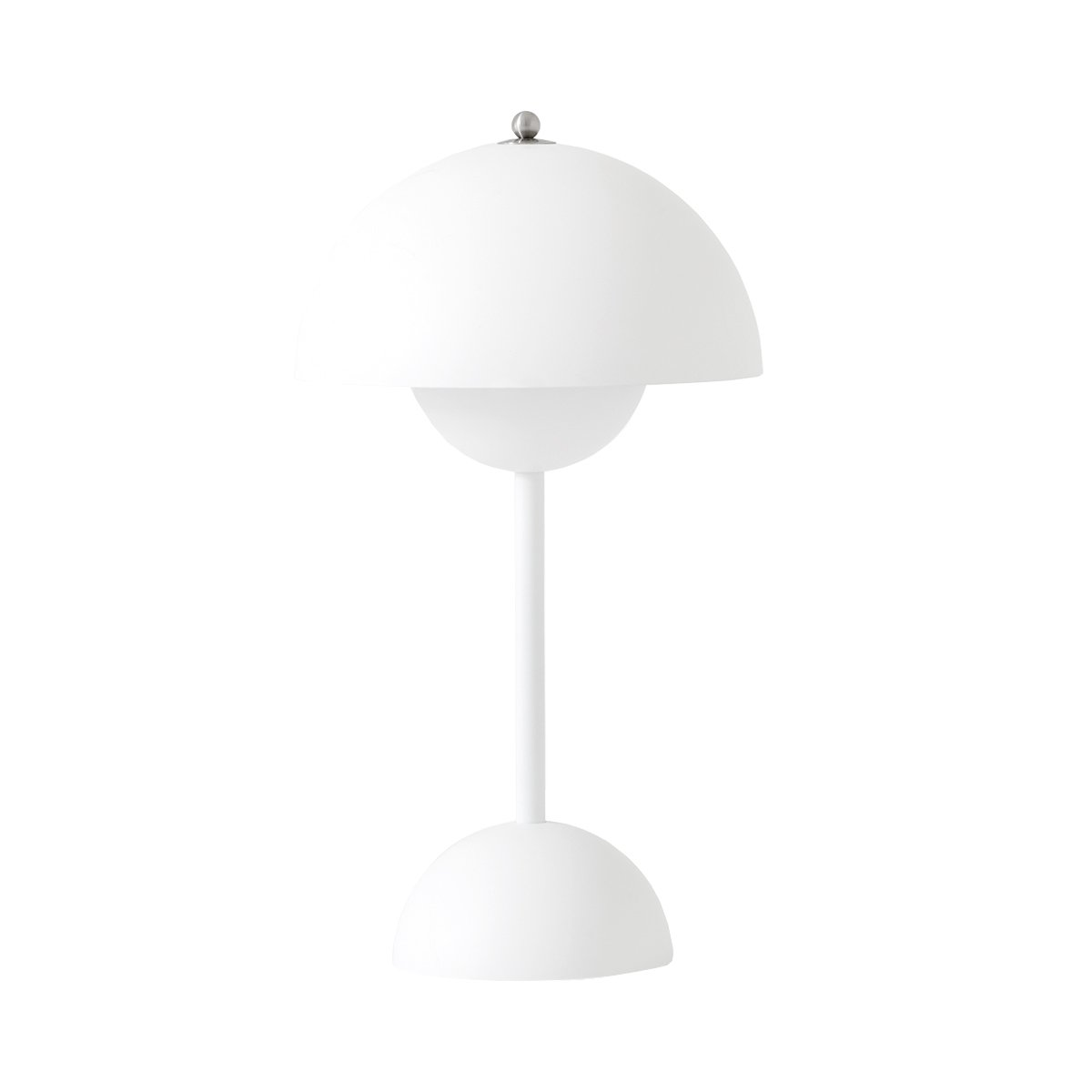 &Tradition Flowerpot VP9 Draagbare Lamp - Mat Wit