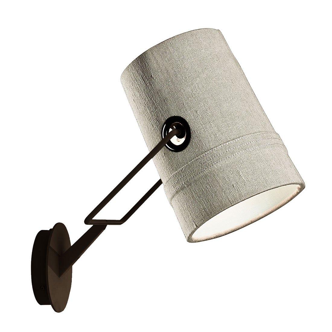 Diesel Fork Wandlamp Ivoor / Bruin
