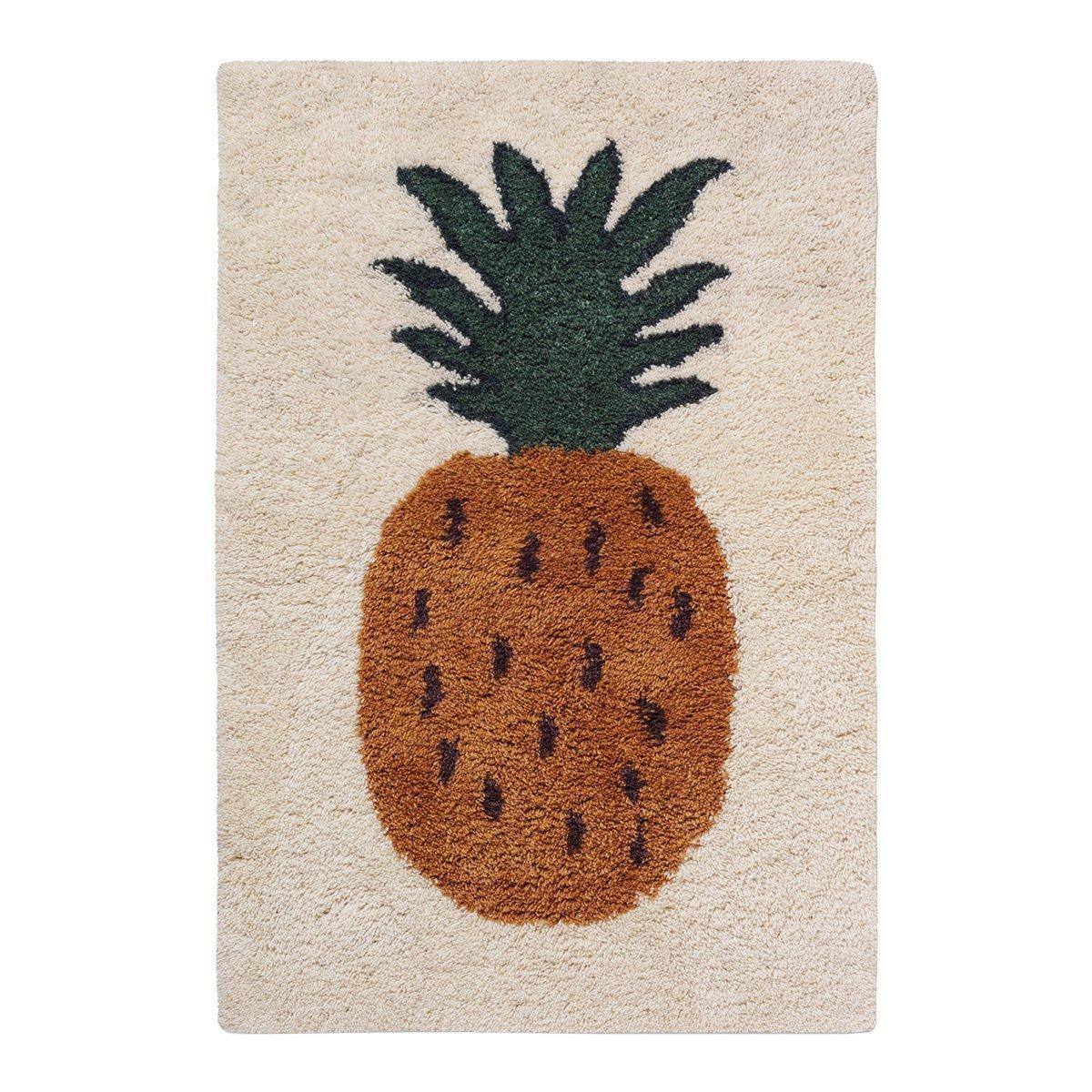 Ferm living Fruiticana Vloerkleed - Pineapple Small