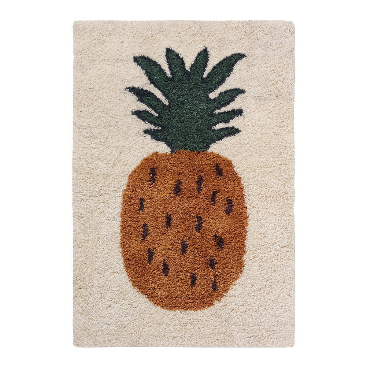 Ferm living Fruiticana Vloerkleed - Pineapple Large