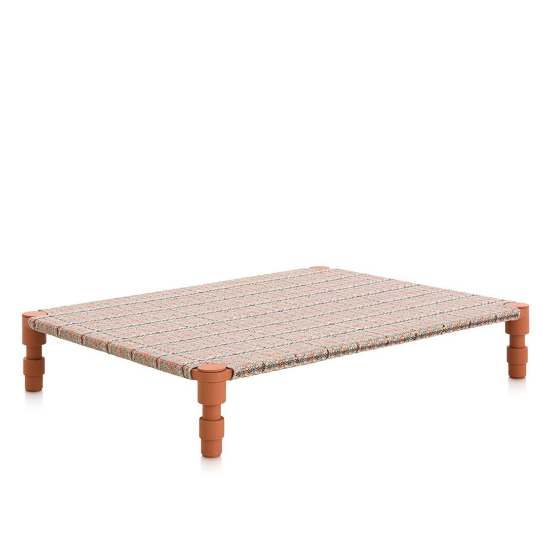 Gan Rugs Garden Layers Double Indian Daybed Tartan Terracotta