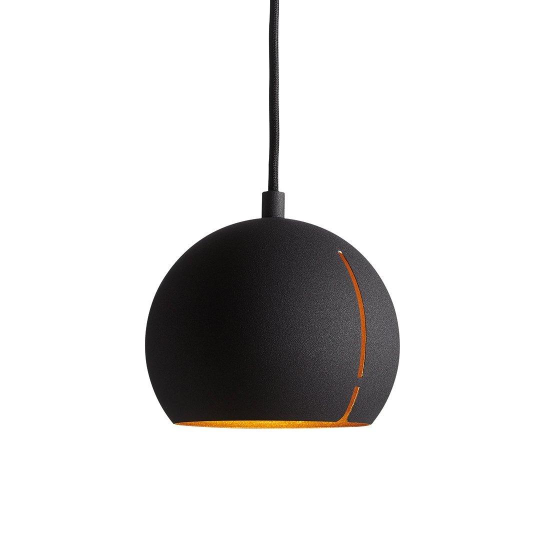 WOUD Gap Round Hanglamp Zwart