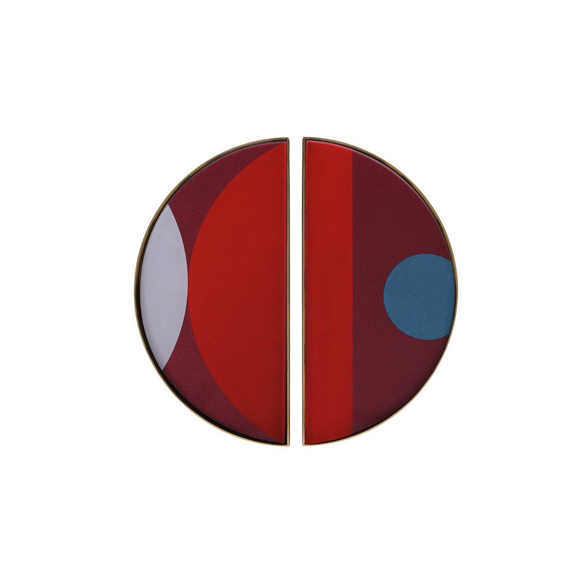 Ethnicraft Curve Mini Dienblad - Garnet