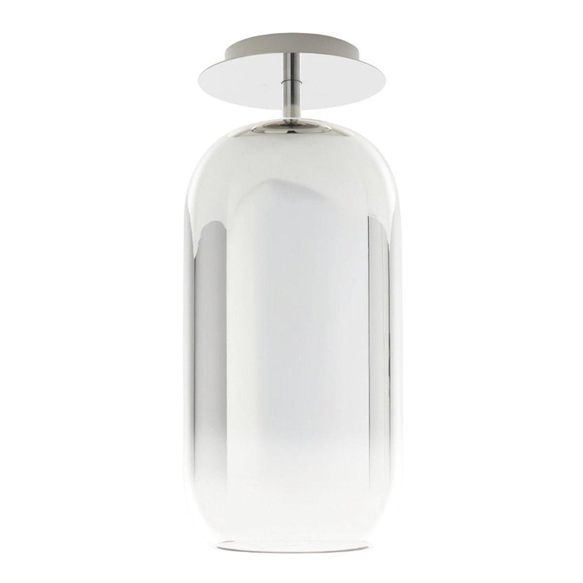 Artemide Gople Plafondlamp - Zilver