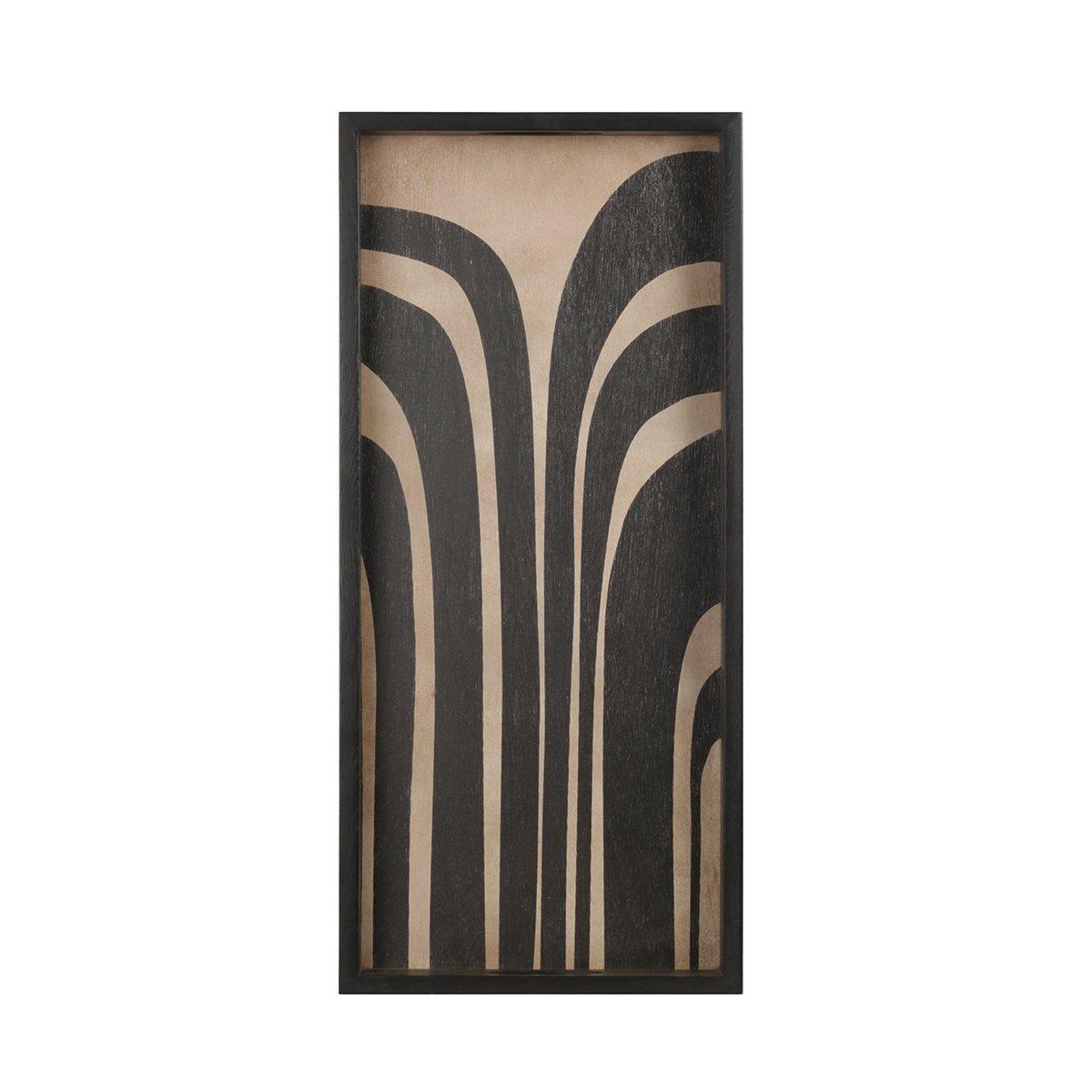 Ethnicraft Graphite Curves Dienblad
