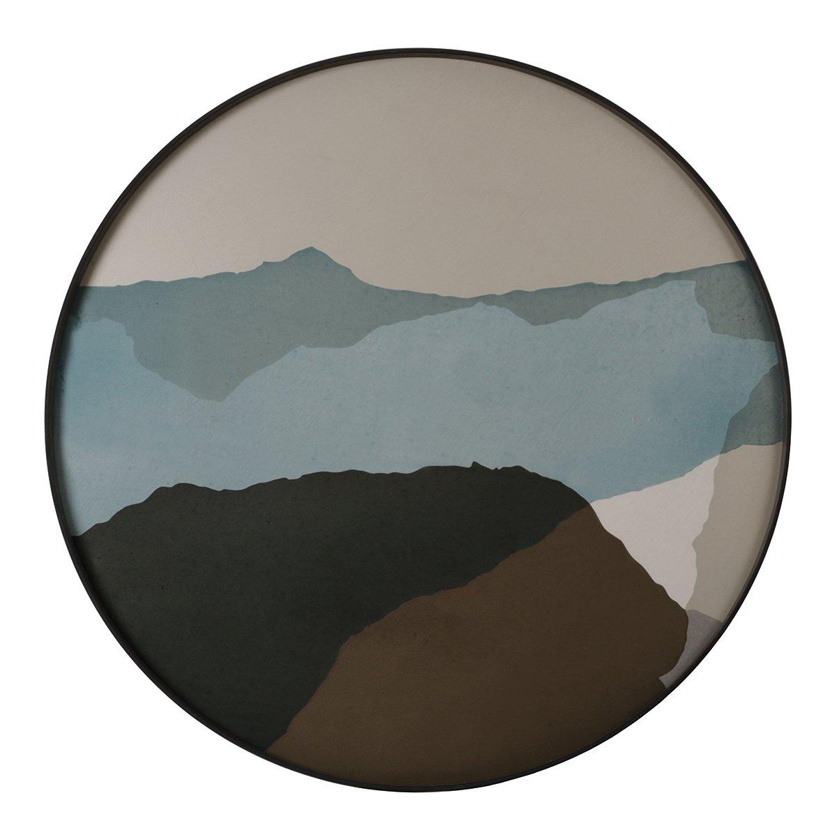 Ethnicraft Wabi Sabi Dienblad Rond Extra Large �92 x h. 4 cm