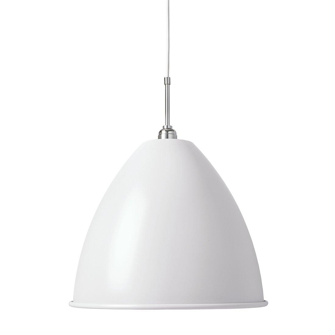 Gubi Bestlite BL9L Hanglamp Wit Chroom