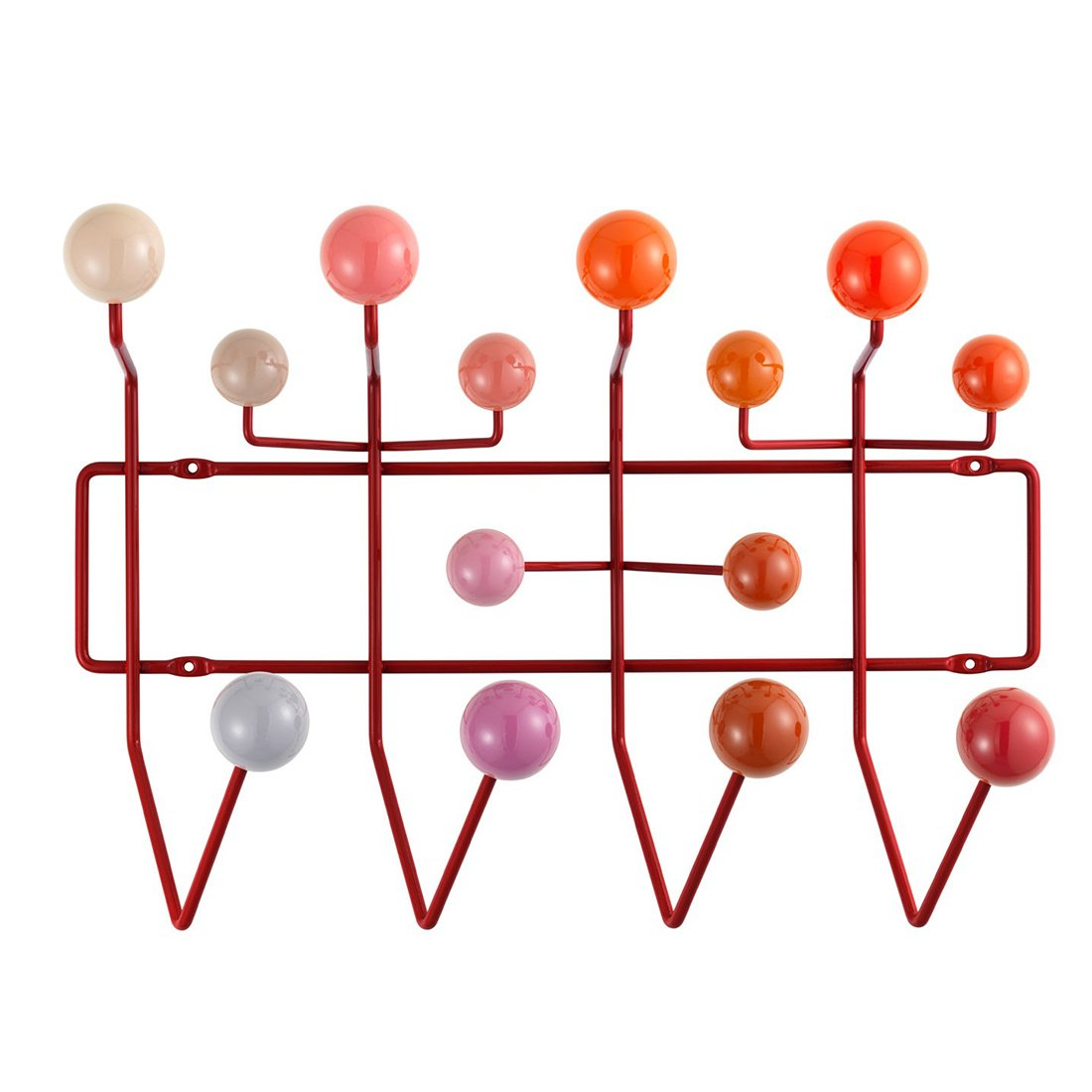 Vitra Hang it All Kapstok Rood