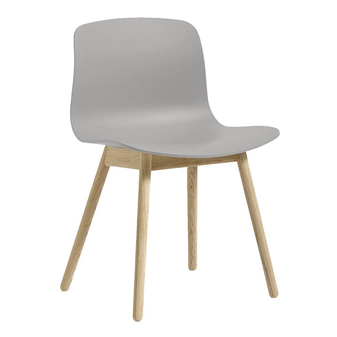 HAY About A Chair AAC 12 Stoel Gezeept Concrete Grijs