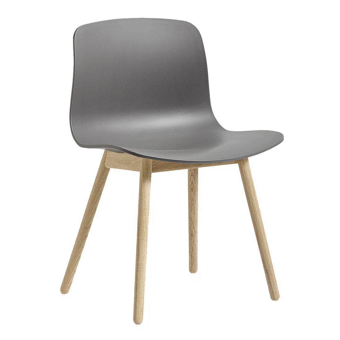 HAY AAC12 Chair Gezeept Eiken Grijs