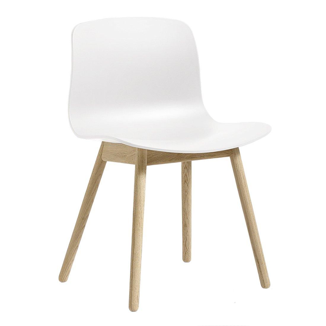 HAY AAC12 Chair Gezeept Eiken Wit