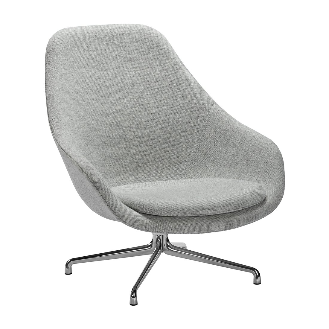 About a Lounge Chair High AAL91 Fauteuil Hay