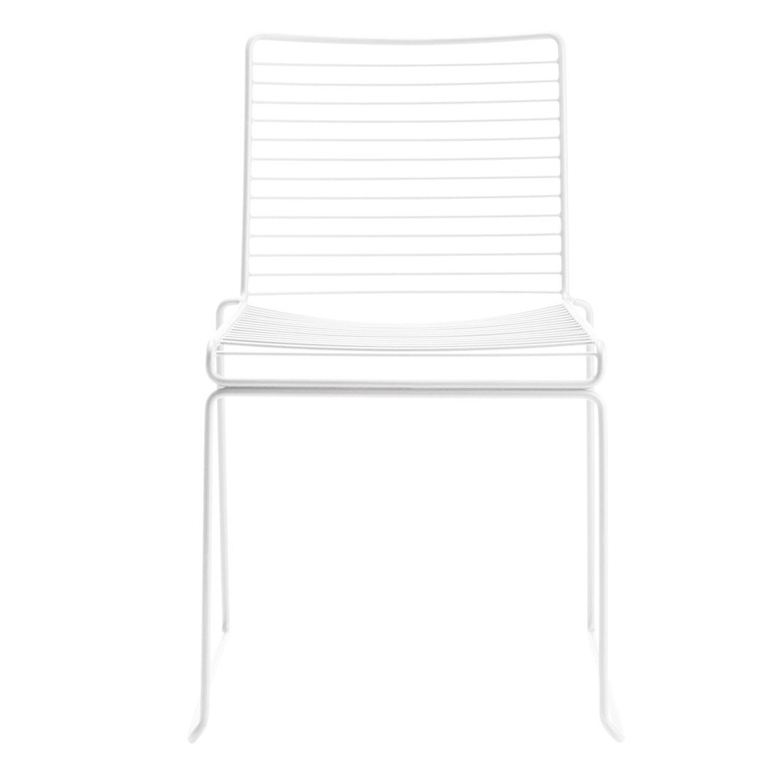 HAY Hee Dining Chair Stoel Wit