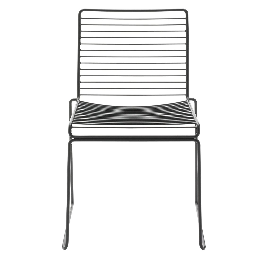 HAY Hee Dining Chair Stoel Zwart