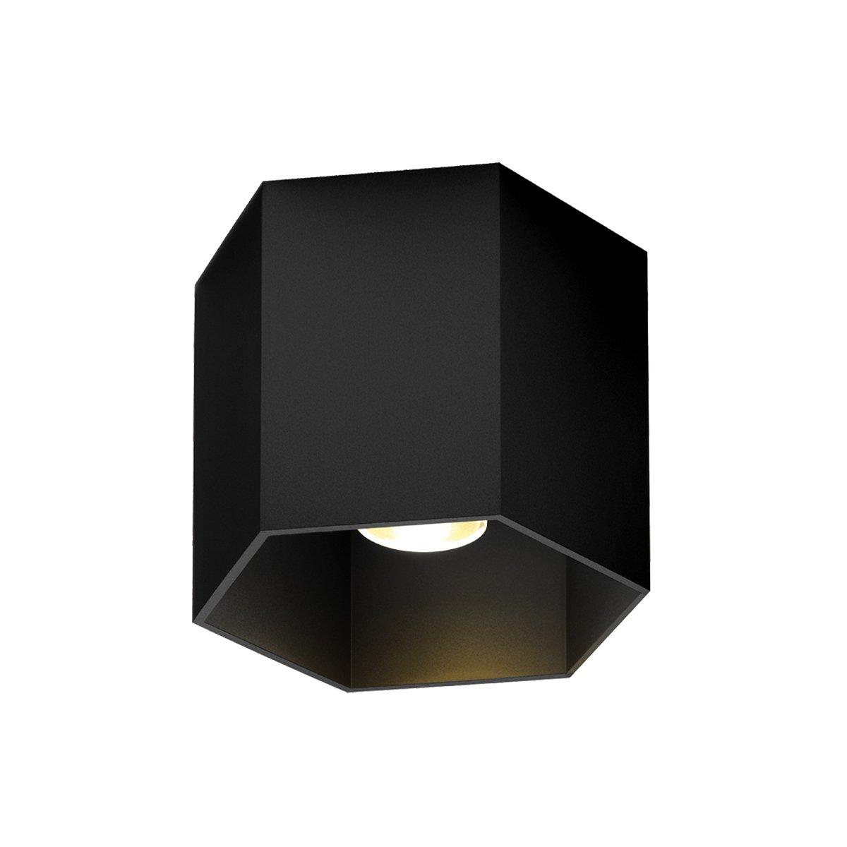 Wever & Ducr� Hexo 1.0 Plafondlamp Jet Black - 2700 Kelvin