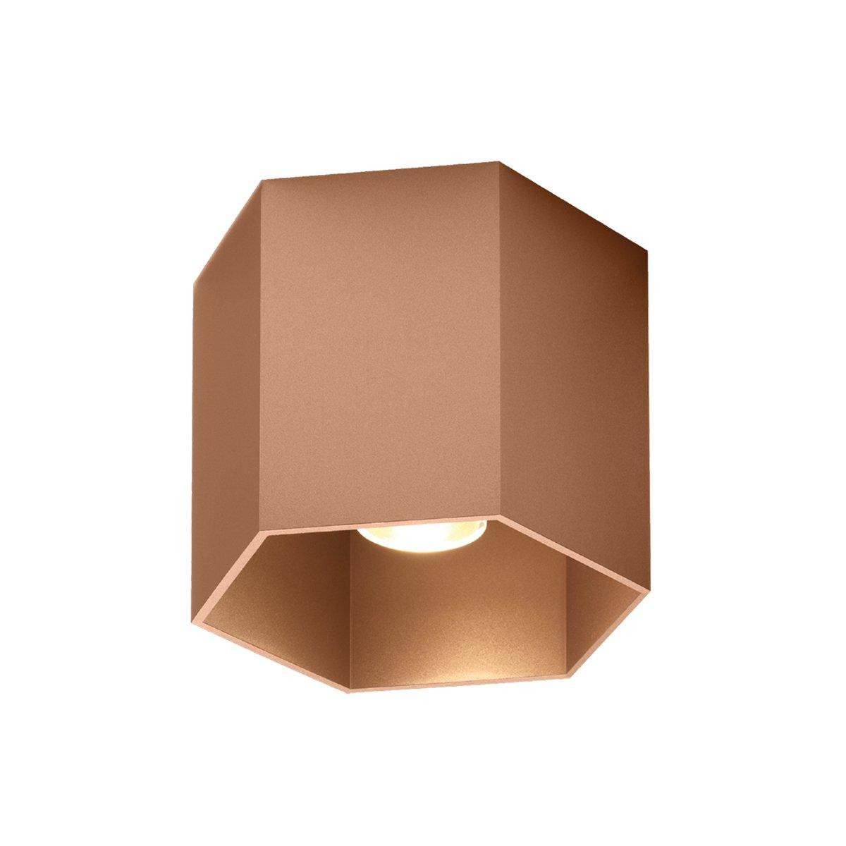 Wever & Ducr� Hexo 1.0 Plafondlamp Copper - GU10