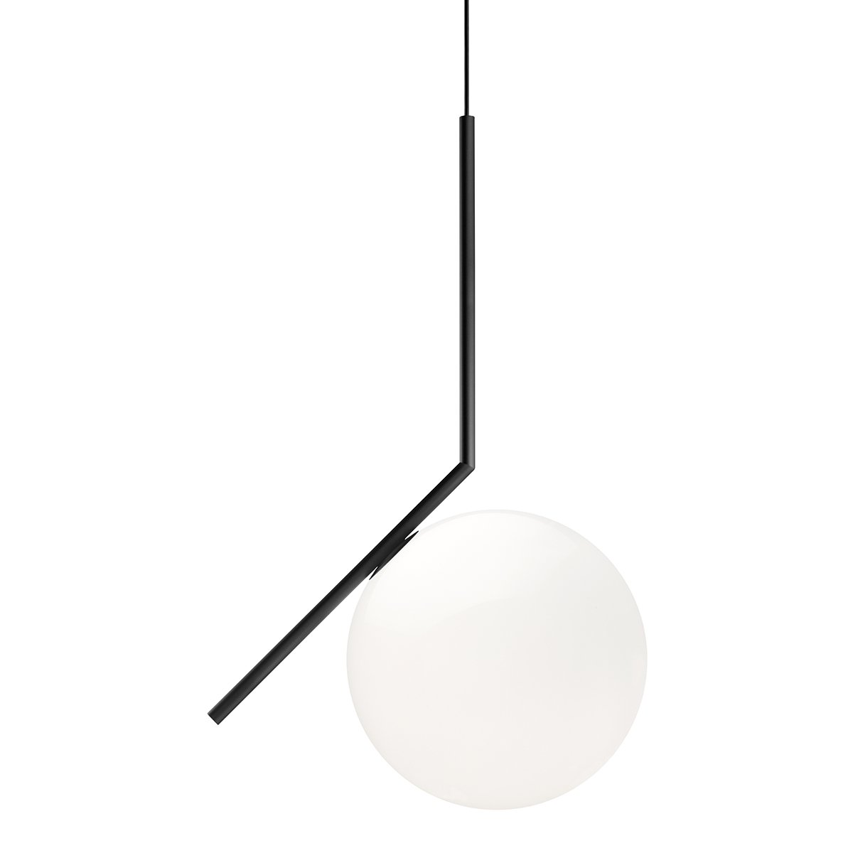 FLOS IC light Hanglamp S2 - Zwart