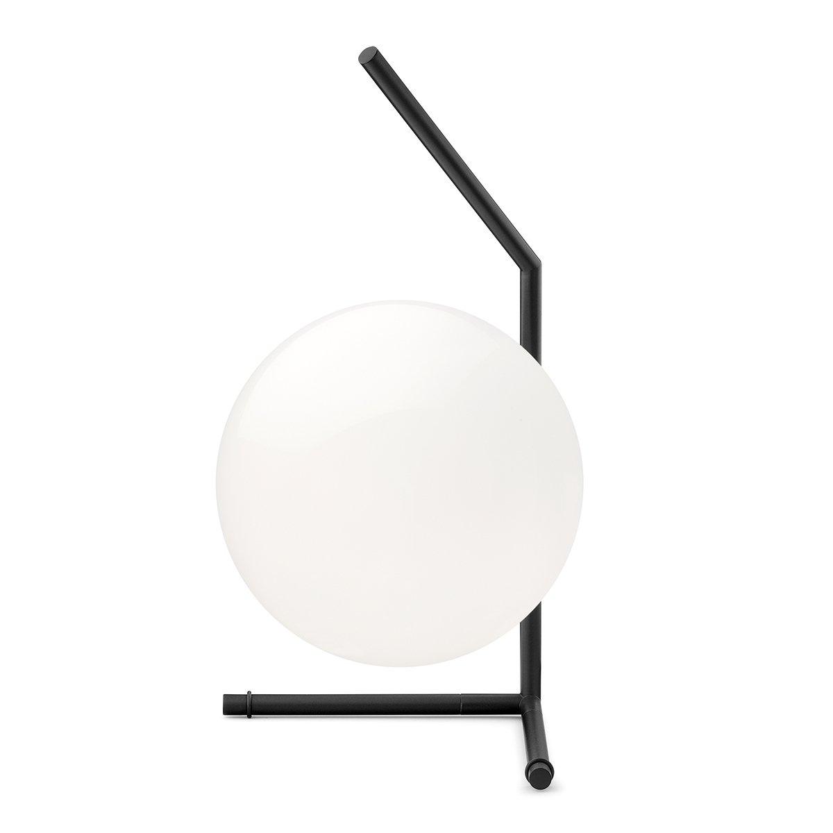 FLOS IC T1 Tafellamp, laag - Zwart