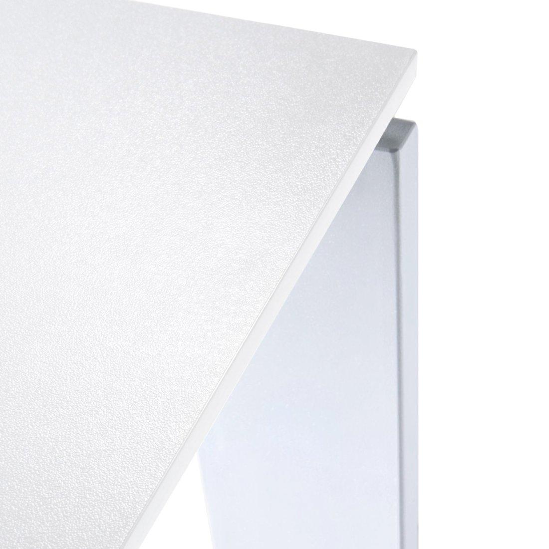 Kartell Four Eettafel 158 x 79 cm - Wit - Aluminium