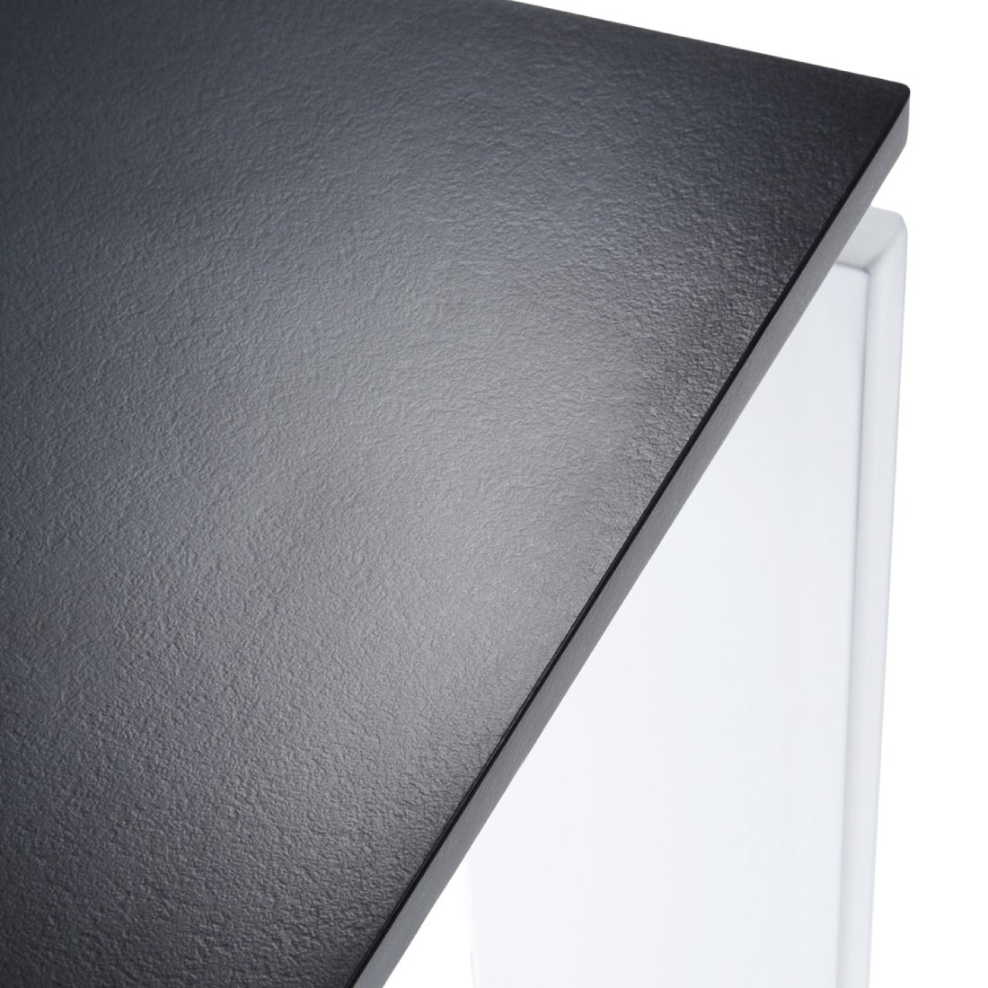 Kartell Four Eettafel 190 x 79 cm - Zwart - Wit