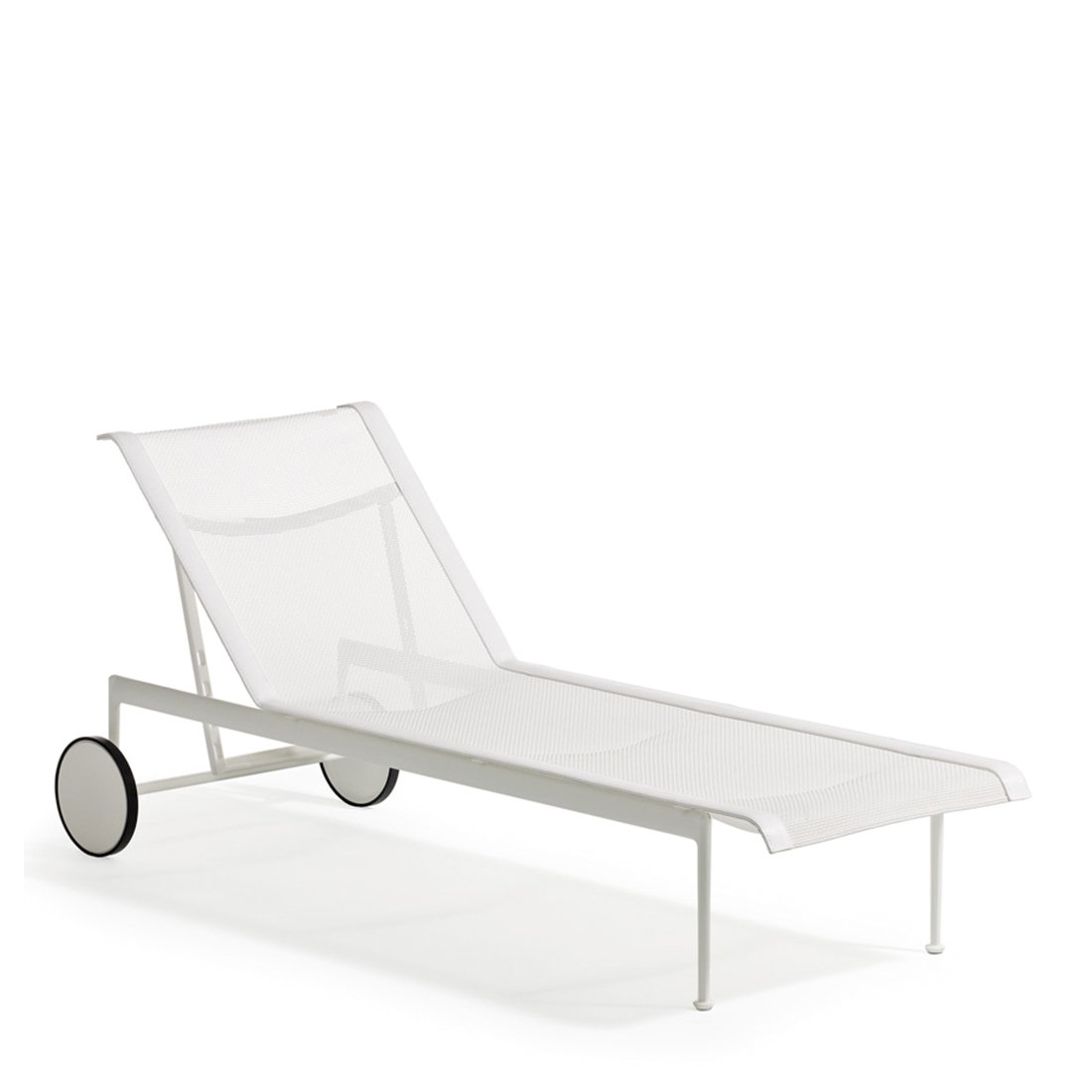 Knoll 1966 Chaise Longue Wit