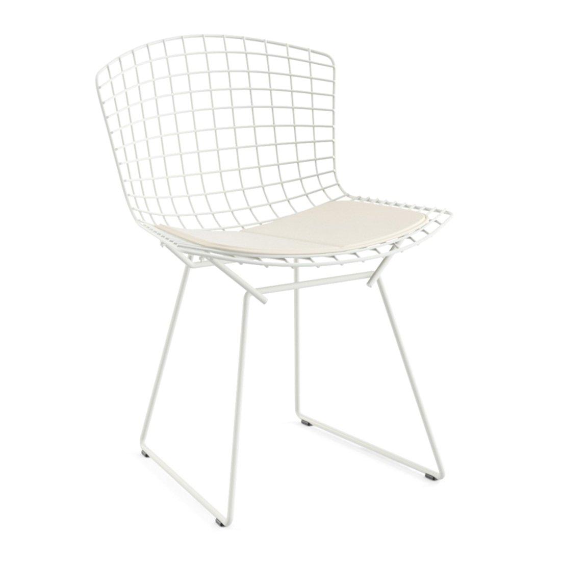 Knoll Bertoia Side Chair Outdoor Wit - Vinyl/Wit