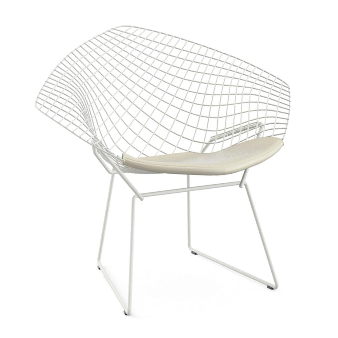 Knoll Bertoia Diamond Lounge Chair Outdoor Wit - Vinyl Wit