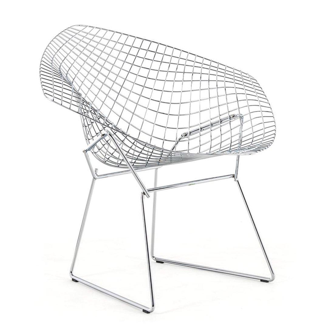 Knoll Diamond Lounge Chair Chroom