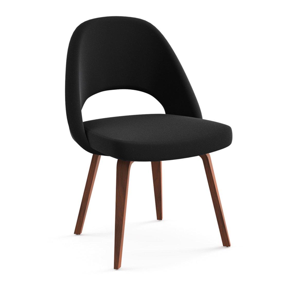 Knoll Studio Saarinen Conference Chair Eiken Walnoot - Black Onyx