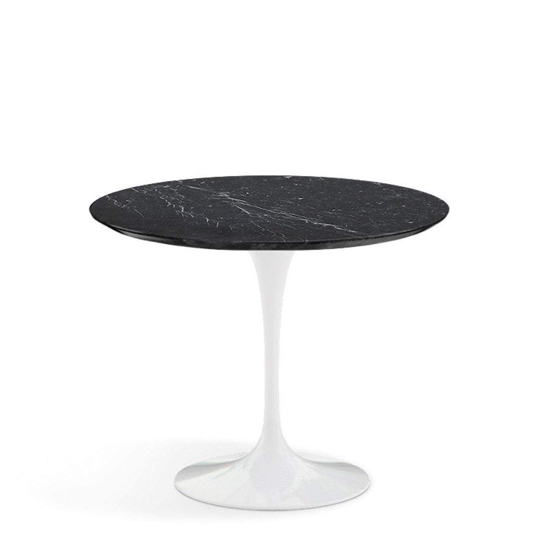 Knoll Studio Saarinen Tulip Eettafel 91 cm. - Nero Marquina