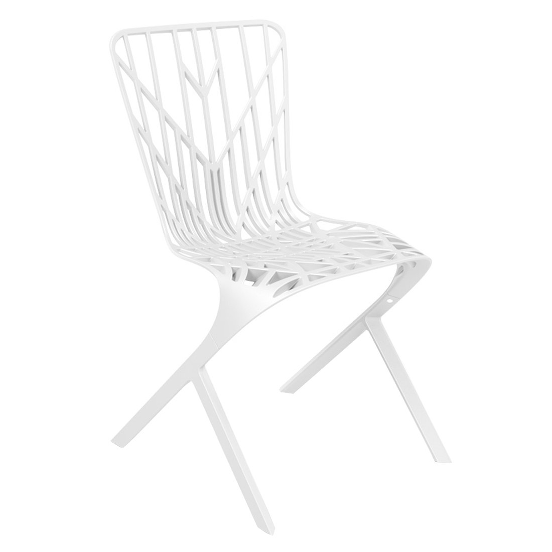 Knoll Washington Skeleton Chair - Wit