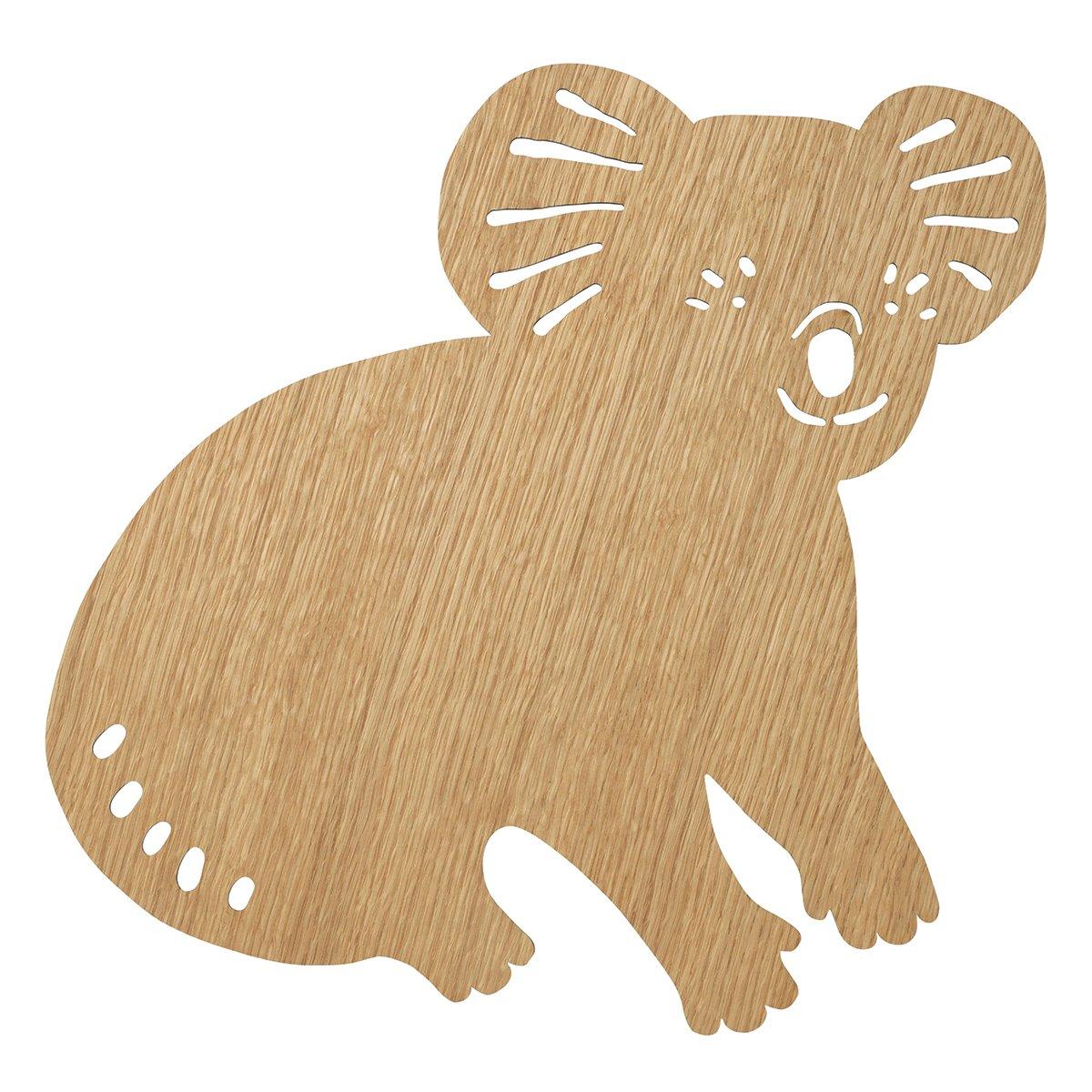Ferm Living Koala Wandlamp - Oiled Oak