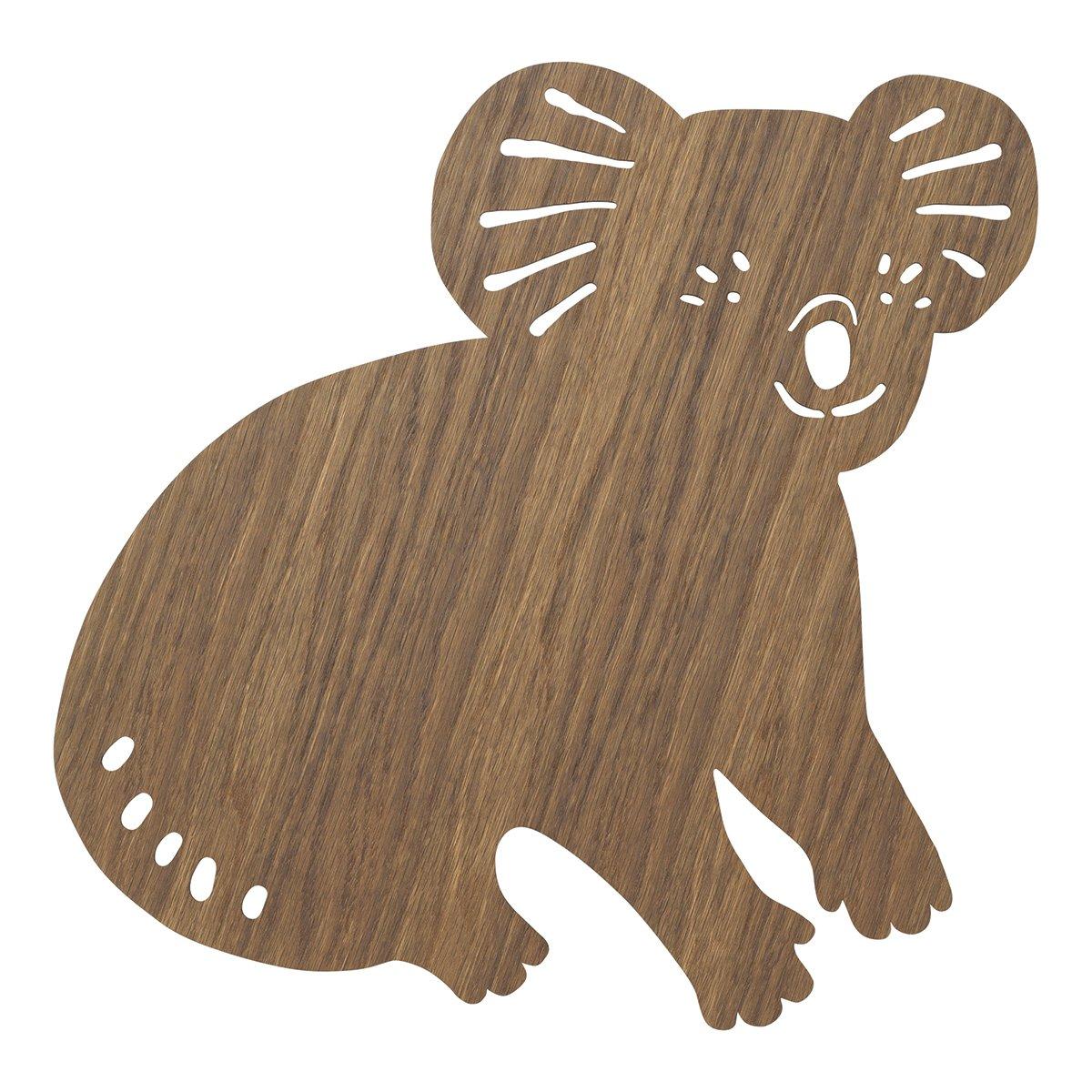 Ferm Living Koala Wandlamp - Smoked Oak