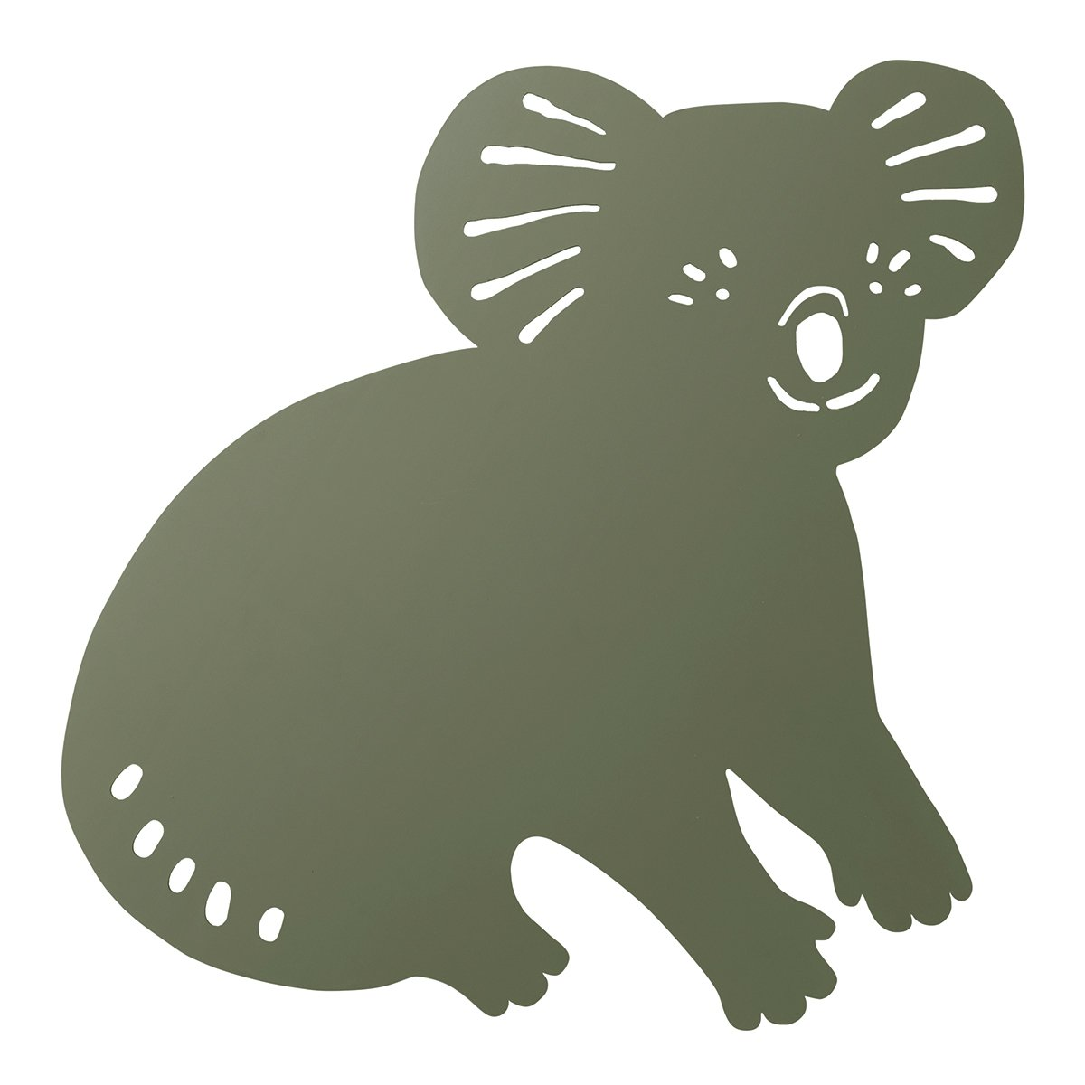Ferm Living Koala Wandlamp - Dark Olive