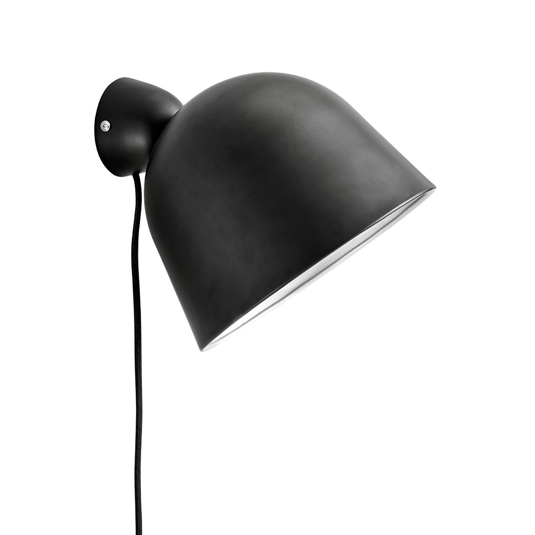 WOUD Kuppi Wandlamp Zwart