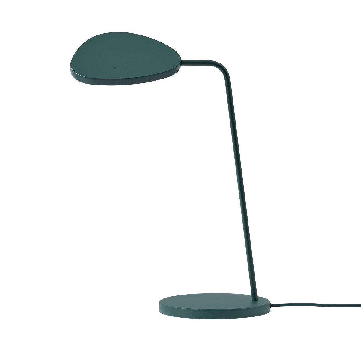 Muuto Leaf Bureaulamp - Donkergroen