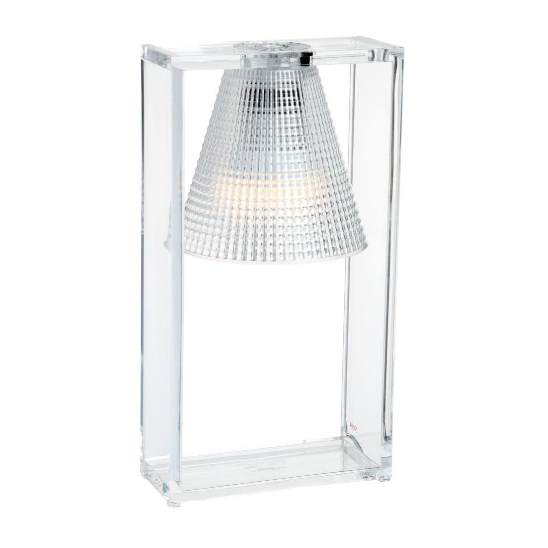 Kartell Light Air Uni Tafellamp Kristal