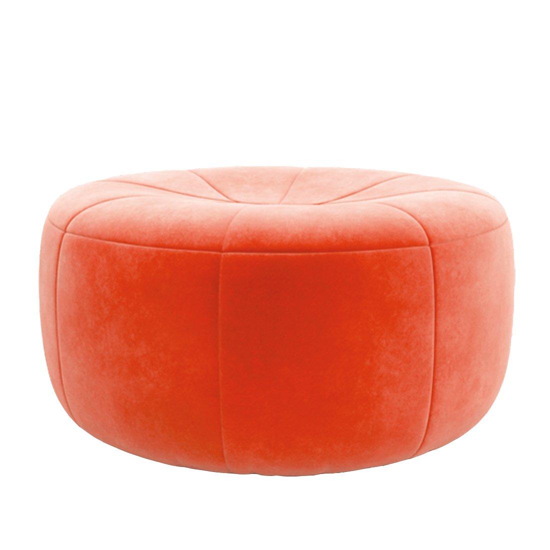 Ligne Roset Pumpkin Poef Alcantara - Orange