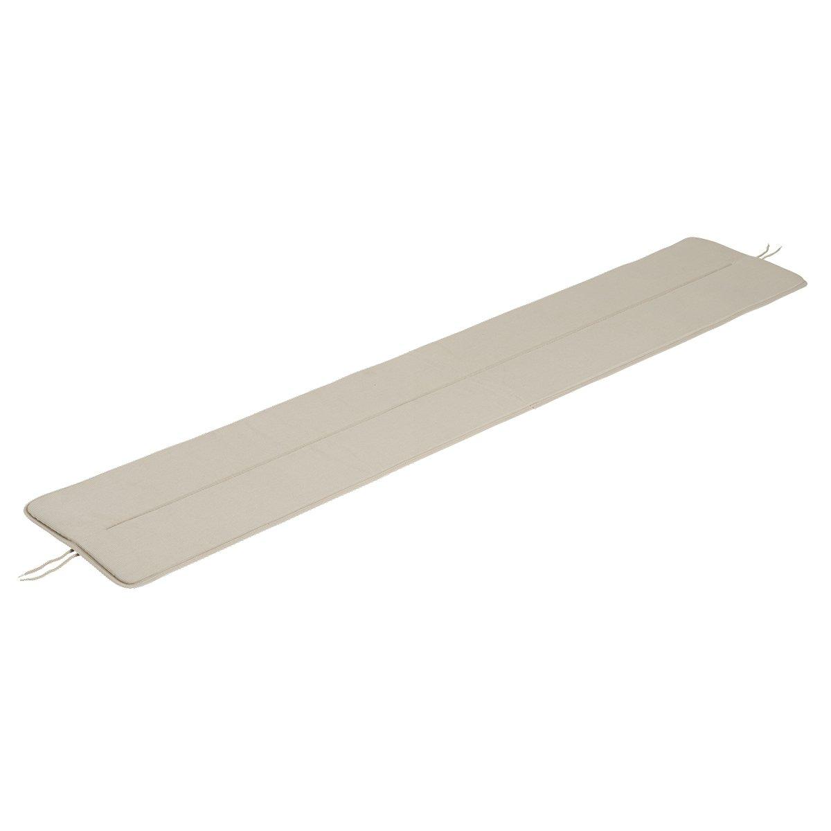 Muuto Linear Steel Bank Zitkussen - 170 cm./Patch Grey