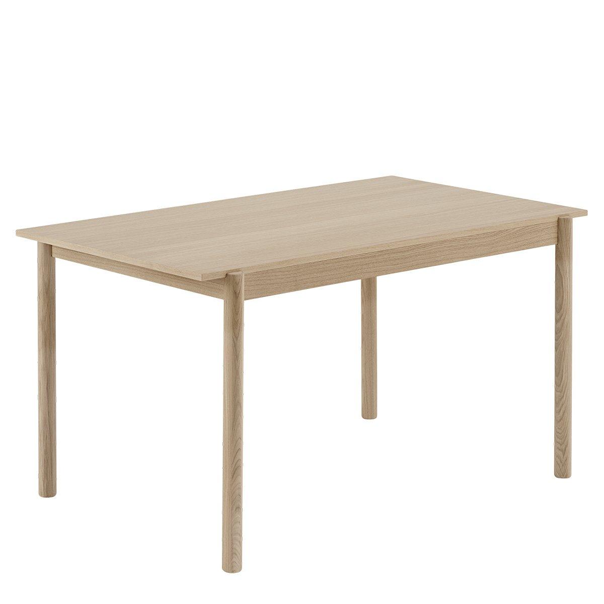 Muuto Linear Wood Eettafel - b. 140 x d. 85 cm.