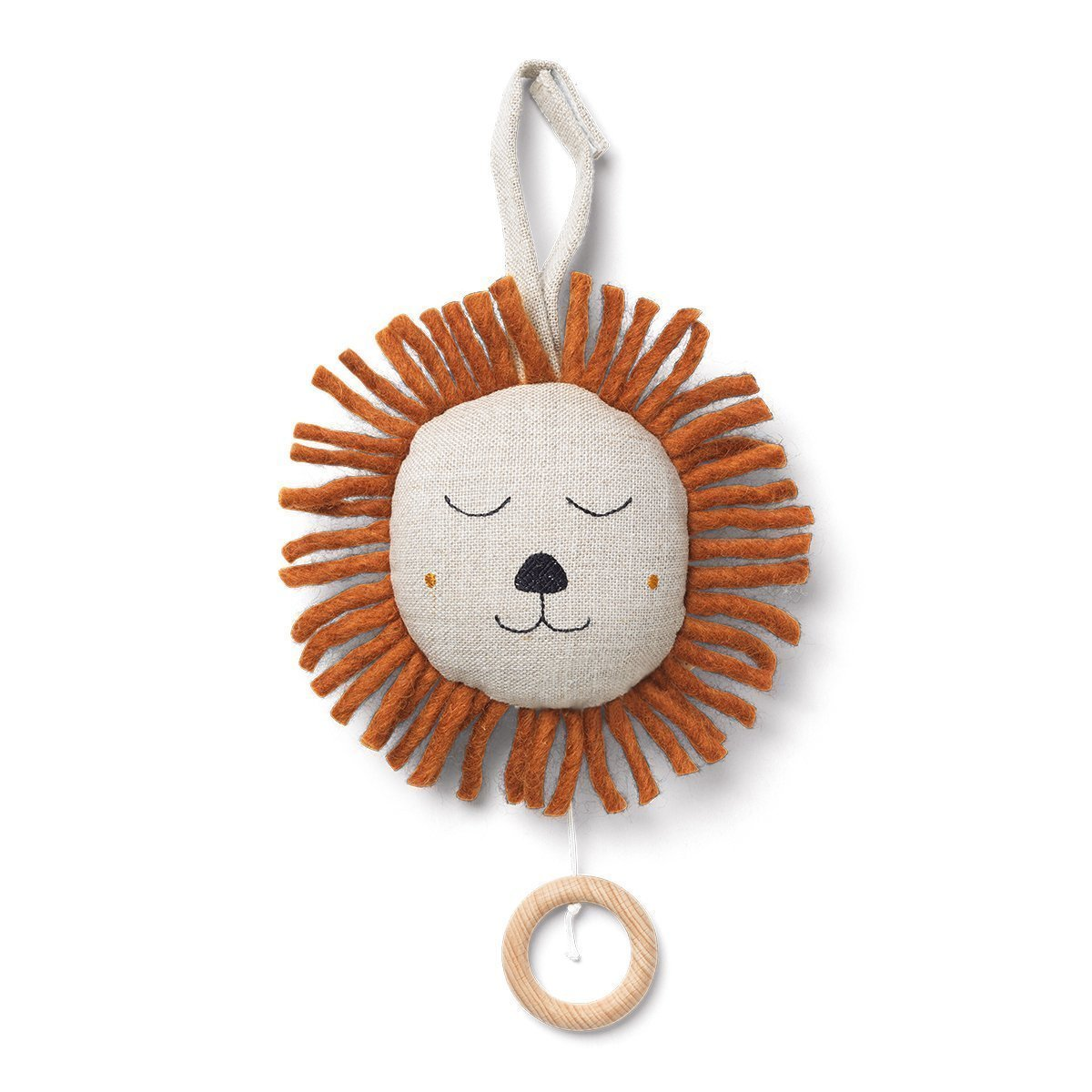 Ferm Living Lion Muziekmobiel - Naturel
