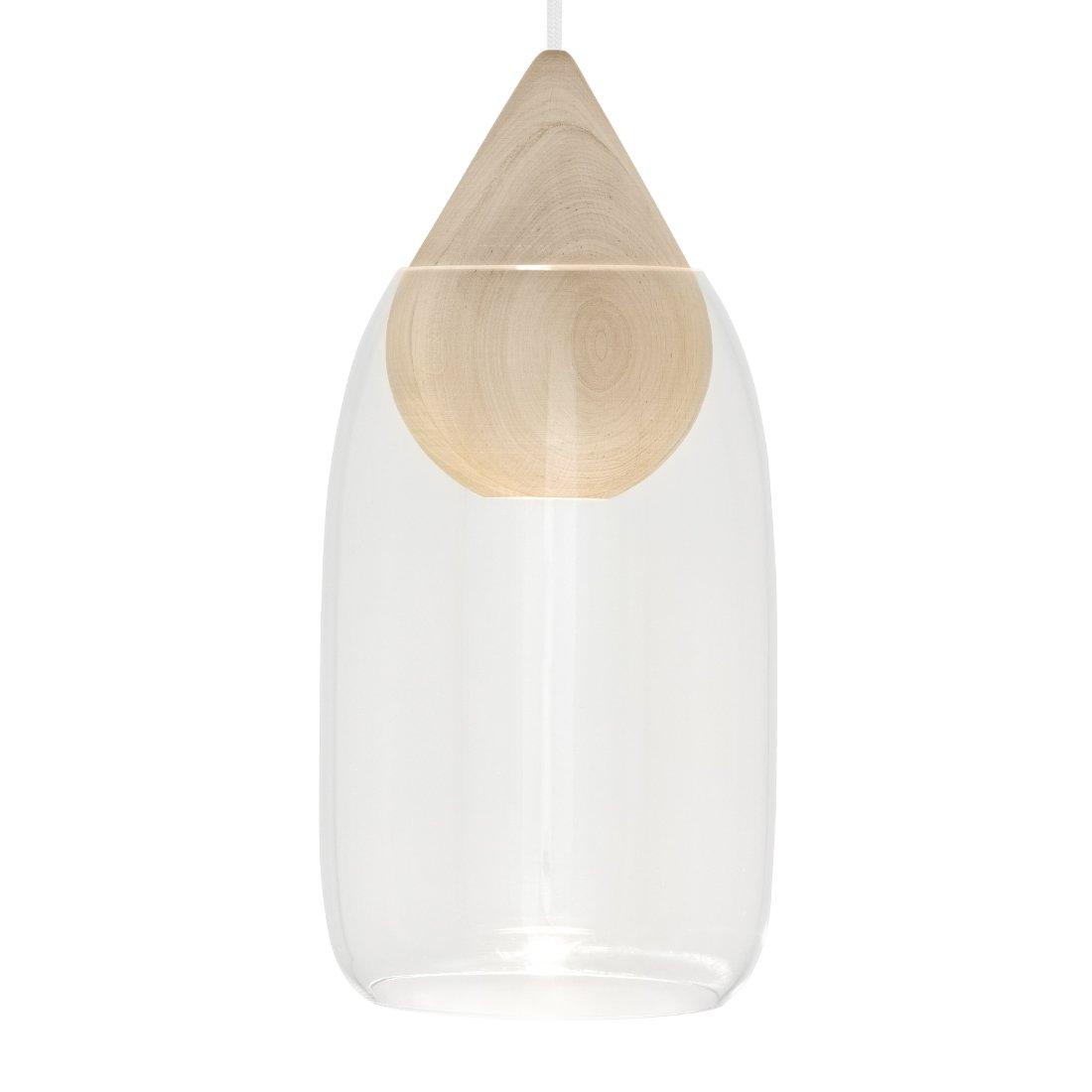 Mater Liuku Drop Glass Hanglamp Transparant