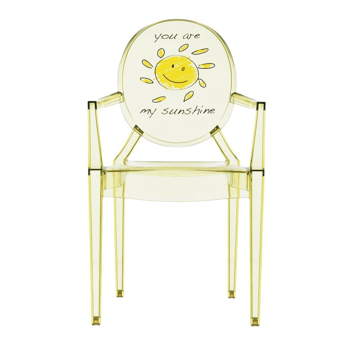 Kartell Lou Lou Ghost Special Edition Kinderstoel - Zon