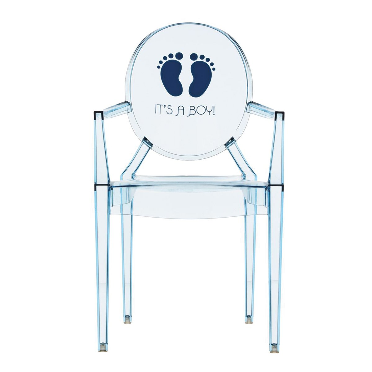 Kartell Lou Lou Ghost Special Edition Kinderstoel - It's a boy