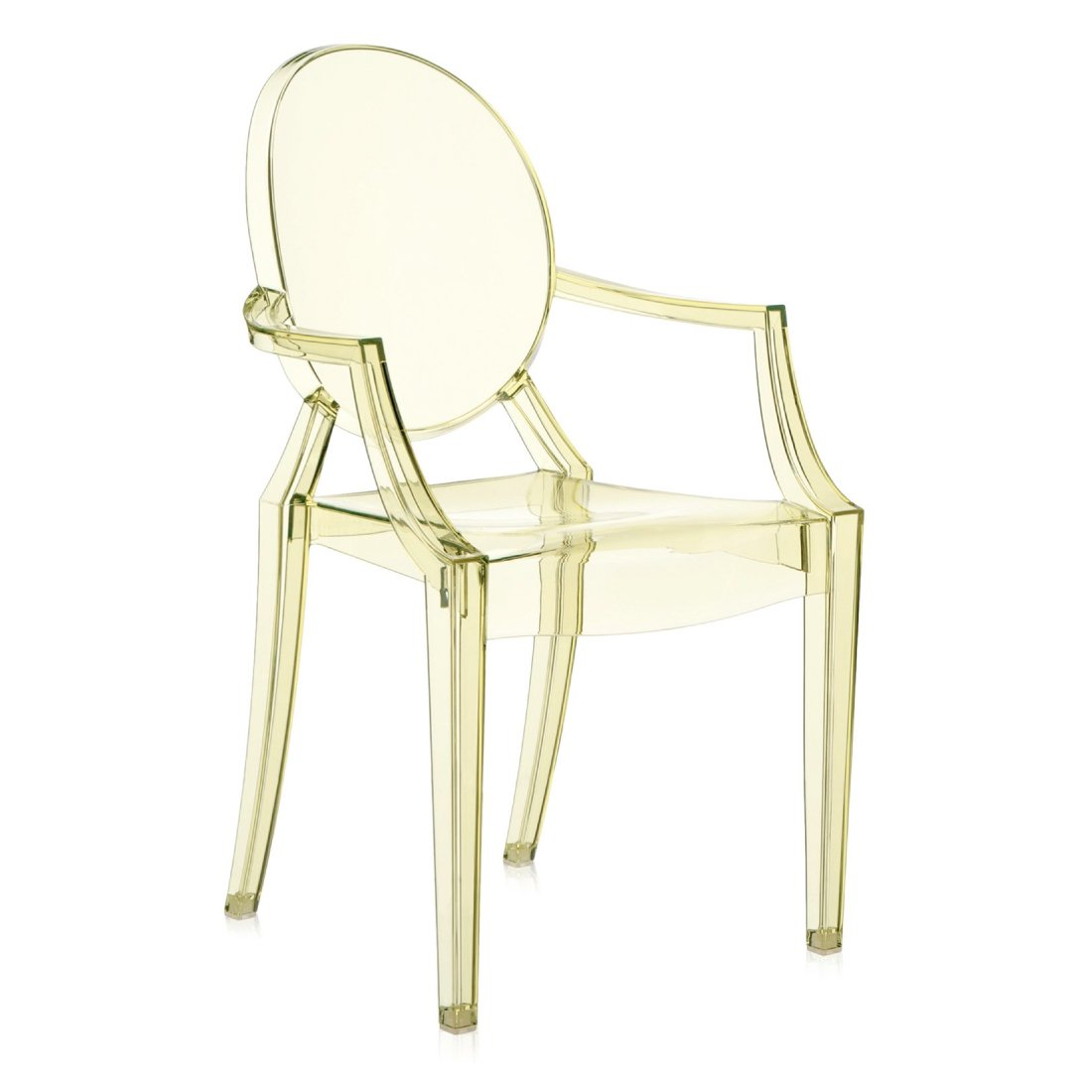 Kartell Louis Ghost Geel