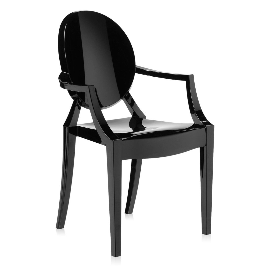 Kartell Louis Ghost Zwart